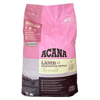 Корм для собак ( Акана ) Acana Lamb Apple 17кг - гипоаллергенный корм для взрослых собак с ягненком