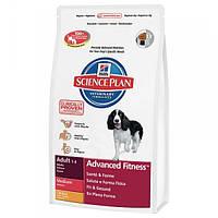 Корм для собак HILL'S HILLS Science Plan Canine Adult Medium Chicken 12 кг для середніх порід з курятиною