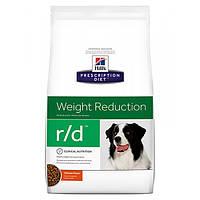 Корм для собак HILL'S HILLS Prescription Diet Canine r/d 12 кг