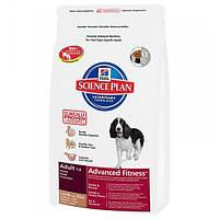Корм для собак HILL'S HILLS Science Plan Adult  Lamb Rice 12 кг для взрослых собак с ягненком и рисом