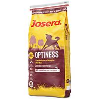 Корм для собак (Джозера) JOSERA Optiness Lamb Potato 15 кг - для взрослых собак всех пород с ягненком и картош