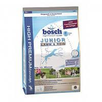 Корм для собак BOSCH Junior Lamb Rice 15 кг для щенков и юниоров с ягненком и рисом