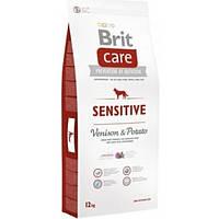 Корм для собак BRIT CARE SENSITIVE VENISON POTATOES 12 кг з дієтичним м'ясом оленя та картоплею