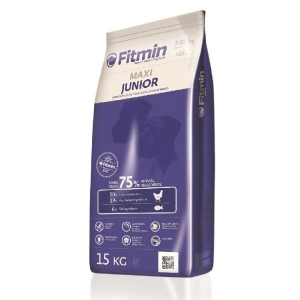 Корм для собак великих порід FITMIN Junior Maxi 15 кг