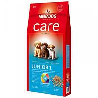 Корм для собак (Мерадог) MERADOG Care High Premium Junior 1 12,5кг - для цуценят собак мілких і середніх порід