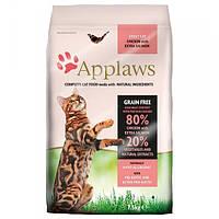 Корм для кошек (Аплоуз) Applaws Adult Chicken&Salmon 7,5 кг - для взрослых кошек с курицей и лососем