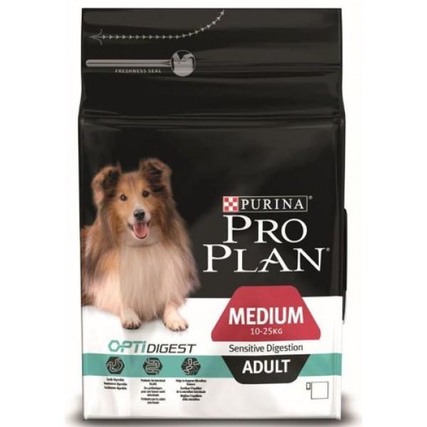 Корм для собак Pro Plan OptiDigest Adult Medium Sensitive Digestion Chicken 14 кг