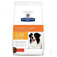 Корм для собак Hill's Hills Prescription Diet Canine C/D 12 кг