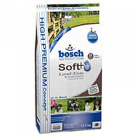 Корм для собак Bosch HPC Soft Land-Ente & Kartoffel 12,5 кг качка і картопля