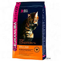 Eukanuba Cats Top Condition 1+ Adult Chicken & Turkey 4 кг