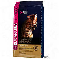Eukanuba Cats Healthy Digestion Adult Lamb with Liver 4 кг