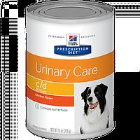 HILL'S PD Prescription Diet Canine c/d  Chicken консерви 12 x 370 г