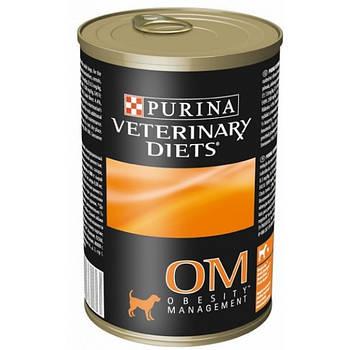 PURINA Veterinary PVD OM Obesity Management консерви 12 x 400г