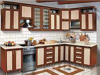Кухня с рамочным фасадом