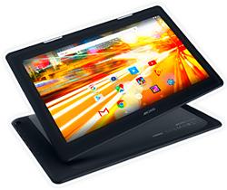Мультимедийному планшету Archos 133 Oxygen с экраном 13,3 дюйма и матрицей IPS 1920 х1080 могут позавидовать некоторые ноутбуки