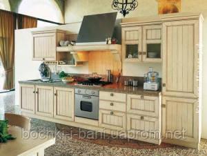 Кухня с рамочным фасадом Кантри