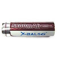 Аккумулятор литиевый 14500  Bailong purple 5800mAh 4,2V  Li-ion