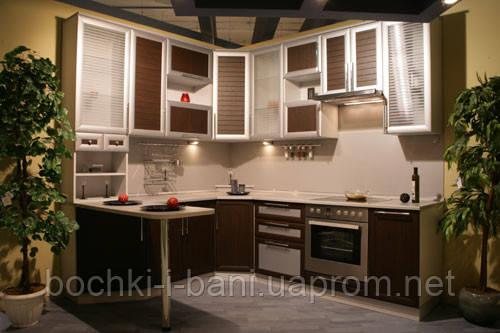 Кухня с рамочным фасадом , фото 2