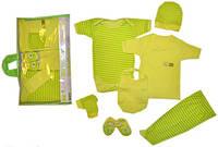 Детская одежда оптом (Турция). Подарочный набор для новорожденных 7 предметов. Размер 0-3 мес.