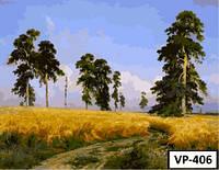 Картина на холсте по номерам VP 406 40x50см