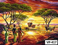 Картина на холсте по номерам VP417 40x50см