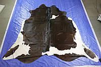 Шкуры коров под заказ из Бразилии шоколадно белого цвета, фото 1