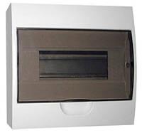 Коробка под 8 автоматов накладная, ABS / LMA109