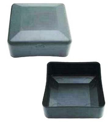 Заглушка квадратная 80Х80 наружная для квадратной профильной трубы (NSK)
