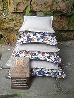 Декоративные подушки текстильные с натуральными наполнителями
