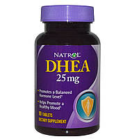 Дегидроэпиандростерон, Natrol, 25 мг, 90 таблеток