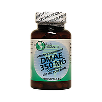 ДМАЭ, DMAE, 350 мг 90 капсул, Диметилэтанол