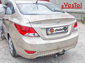 Фаркоп Hyundai Accent c 2011 г.