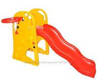 Детская горка с баскетбольным кольцом «Жираф» Bambi XY 819
