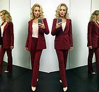 Женский стильный костюм-двойка: пиджак и штаны + майка отдельно (4 цвета)