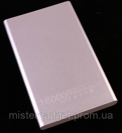 PowerBank 16000mA Внешний Аккумулятор Серый, фото 2