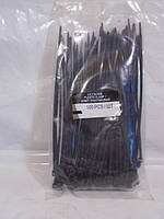 Хомут пластиковый 2.5Х150В черн (100шт) LSA