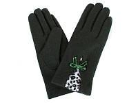 Перчатки женские шерстяные  ETERNO (ЭТЕРНО) E2539-green