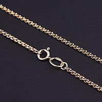 Золотая цепочка из желтого золота якорное плетение