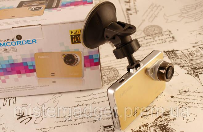 """Видеорегистратор DVR C-02 2.7"""" FullHD Gold Регистратор С-02, фото 2"""