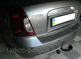 Фаркоп Hyundai Accent c 2006-2011г.