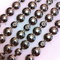 Гвоздевая лента (молдинг мебельный) d 9,5мм (серебро, никель)