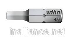 Бита шестигранник, диаметр 4 мм, хром-ванадиевая сталь, полная закалка, Wiha 01706