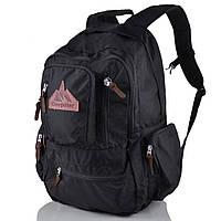 Рюкзак для ноутбука Onepolar Мужской рюкзак с отделением для ноутбука ONEPOLAR (ВАНПОЛАР) W1770-black