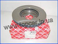 Тормозные диски передние Renault Kango I  ABS 259mm*20.6  Febi Германия 09073