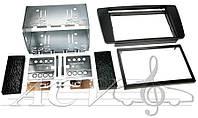 Рамка переходная ACV 381340-03 Skoda Octavia II чёрная (06/2004->)(kit) 2DIN