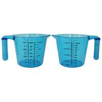 Мерный стакан пластиковый Kamille (0025) на 1000мл
