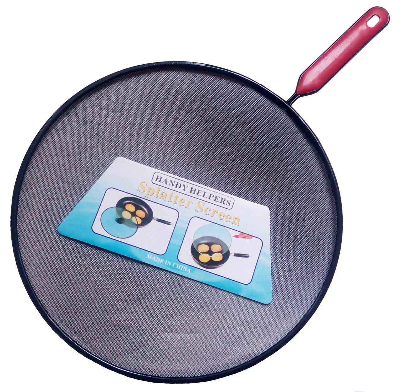 Жироулавливатель кухонный с боковой ручкой (d 29см)