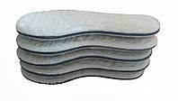Стельки зимние для обуви Шерсть(100%)+Кожкартон