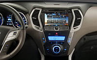 Автомагнитола штатная RoadRover Hyundai Santa Fe 2013 (ix45) (Android)