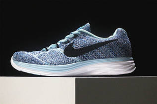 Кроссовки женские Nike Flyknit Lunar 3+ / FLW-100 (Реплика)